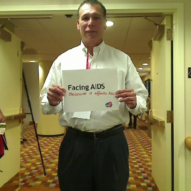 Facing AIDS because it affects ALL.