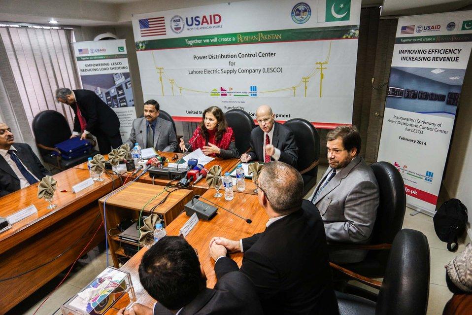 U.S. Improves LESCO's Capacity to Reduce Load-Shedding