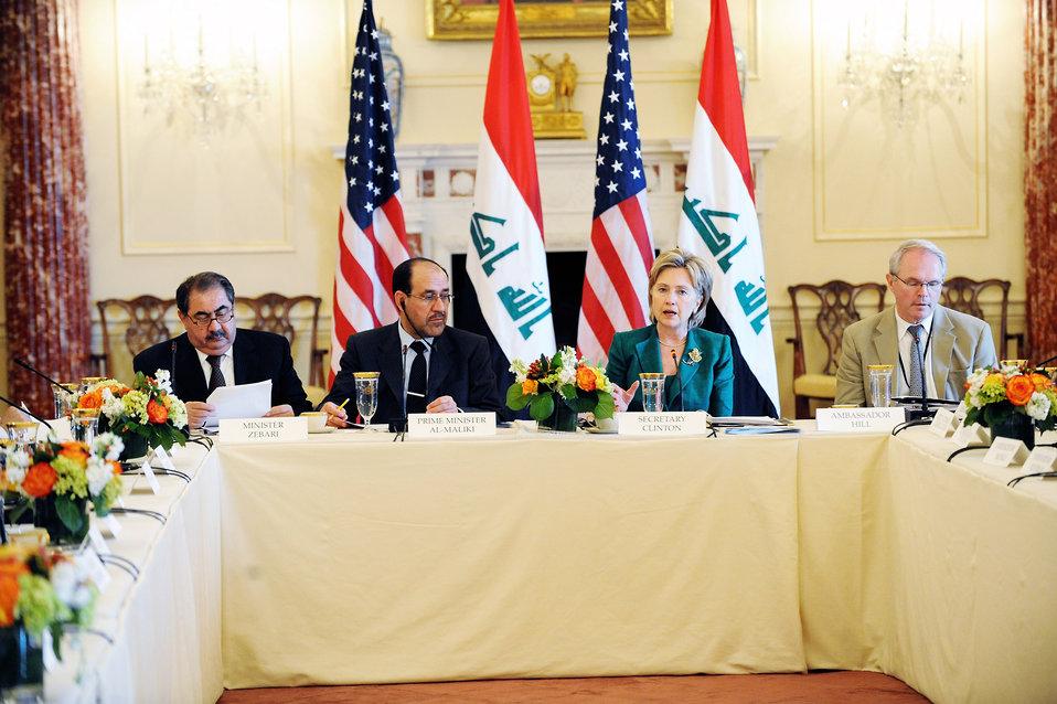 U.S.-Iraq High Coordinating Committee Meeting