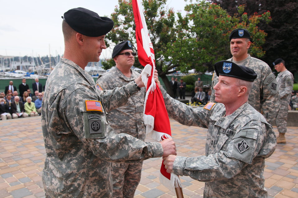Col. Mike Wehr assumes command of the South Pacific Division