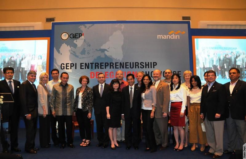 The Global Entrepreneurship Program Indonesia and U.S. Embassy Welcome Entrepreneurship Delegation