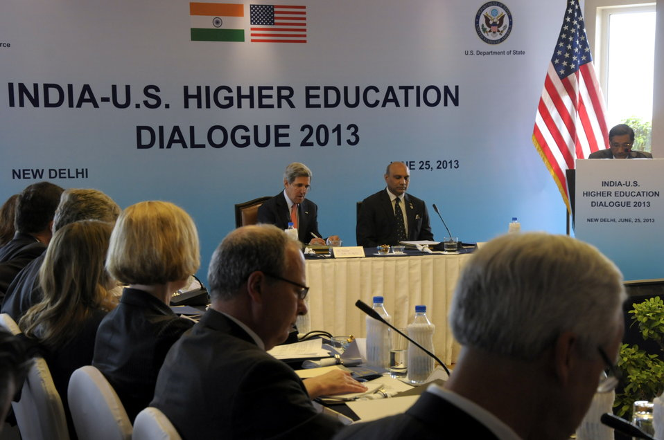 Secretary Kerry Attends a Higher Education Forum