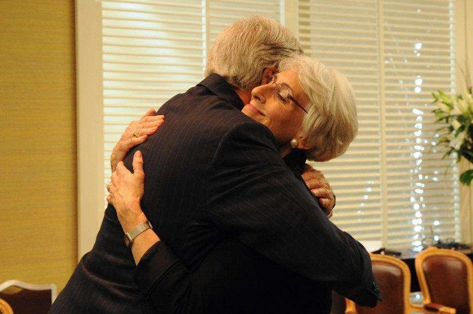 Secretary Kerry Singles Out Undersecretary Sherman for Praise
