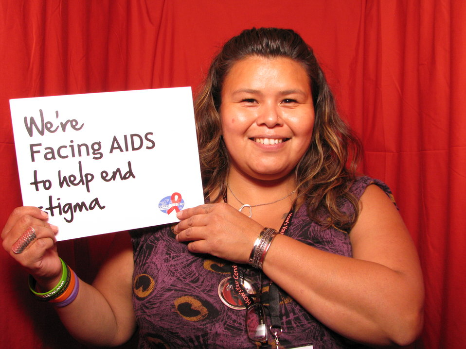 We're FACING AIDS to help end stigma.