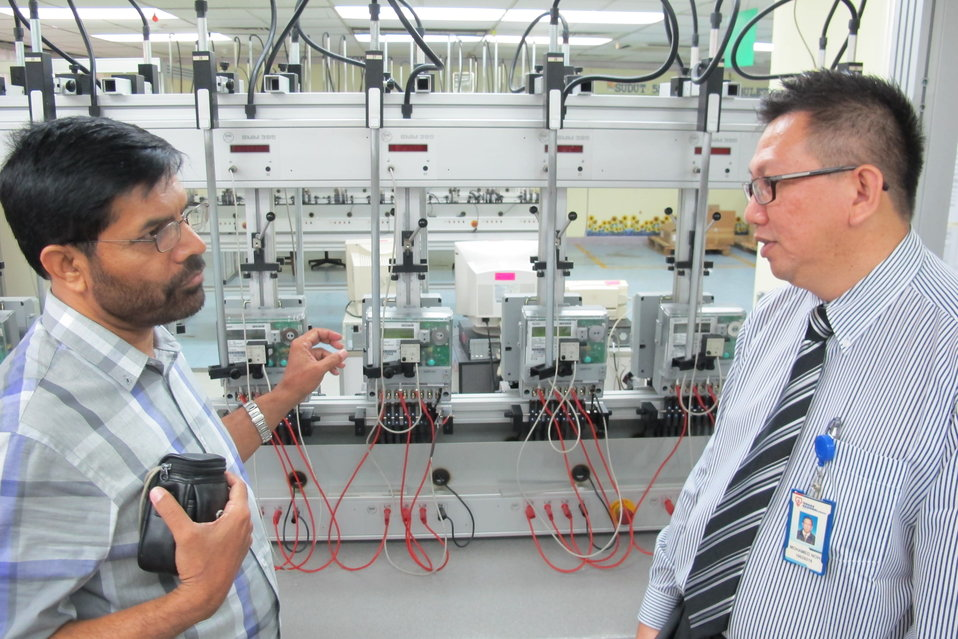 USAID provides practical on-site training in utility engineering and design processes in Malaysia