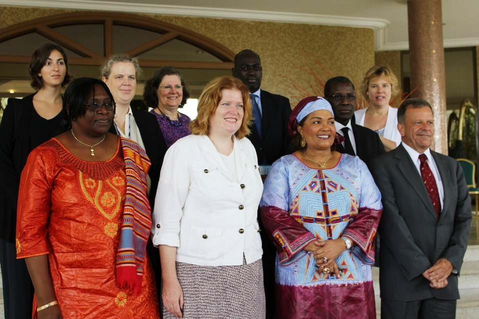Assistant Secretary Richard Meets With First Lady of Burkina Faso Compaoré