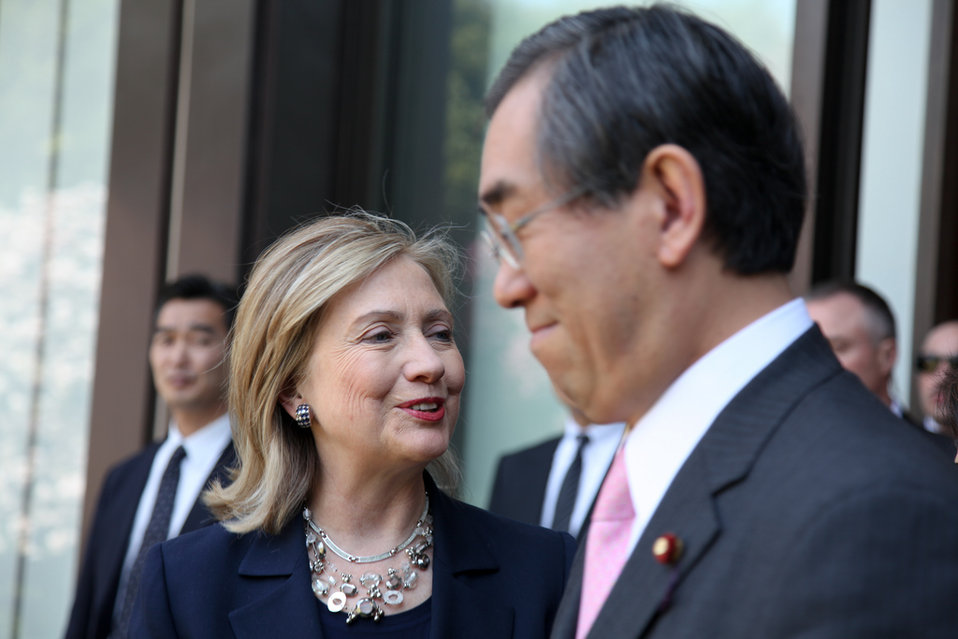 Secretary Clinton Speaks With Japanese Foreign Minister Matsumoto