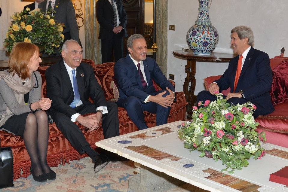 Secretary Kerry Discusses Syria With Foreign Ministers