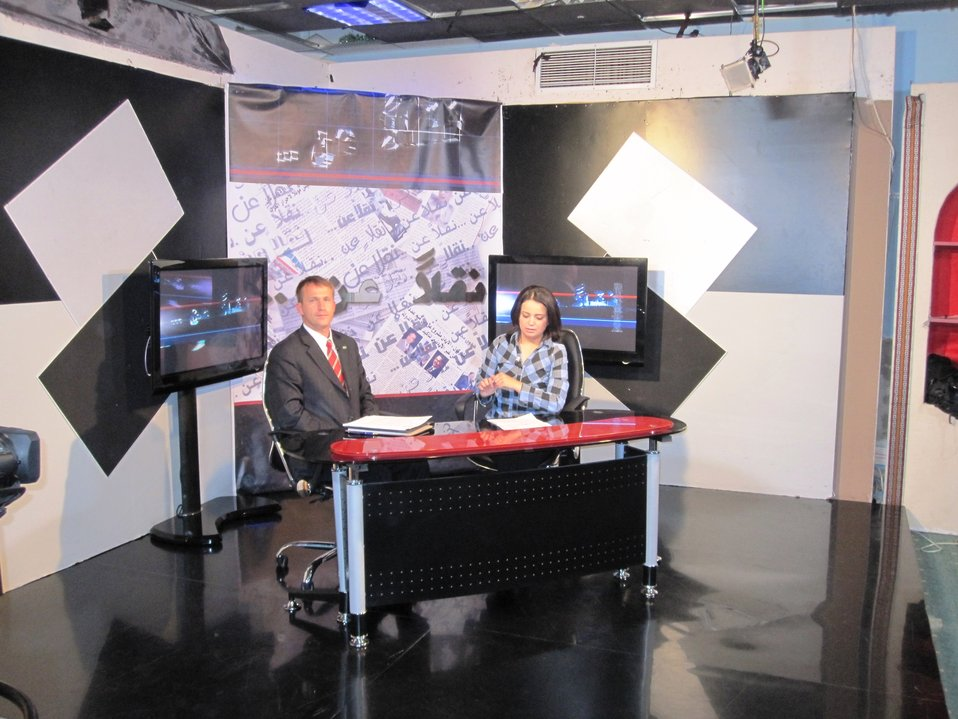 PAO Baker Is Interviewed on Al-Shababiya Television