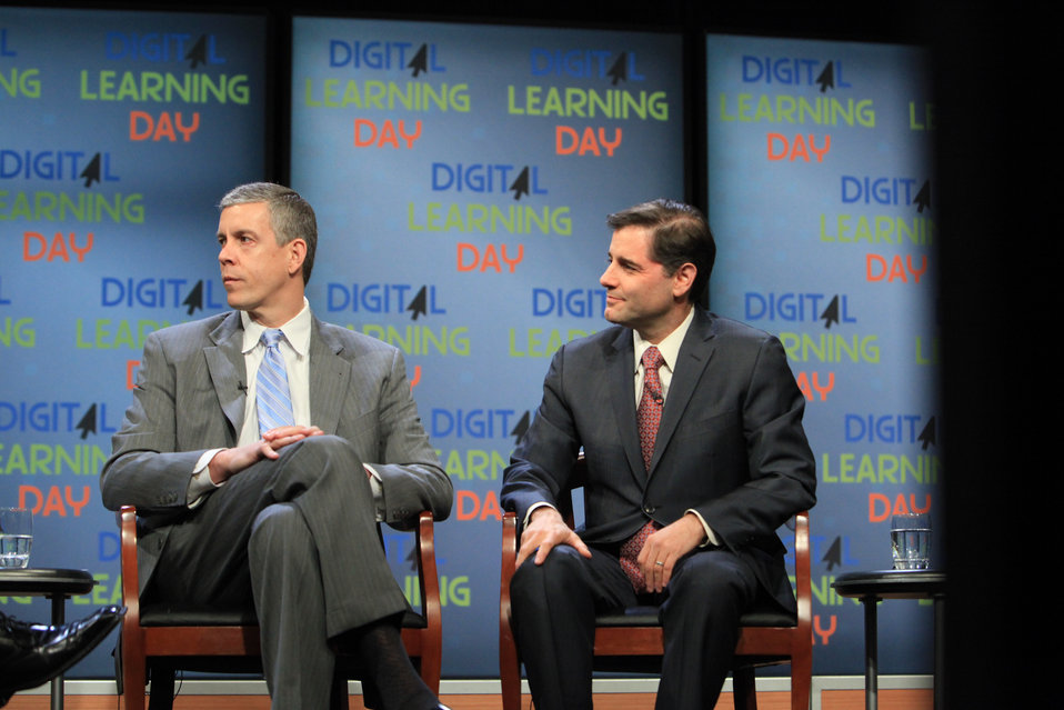 FCC Chairman Genachowski at the Digital Learning Day Town Hall