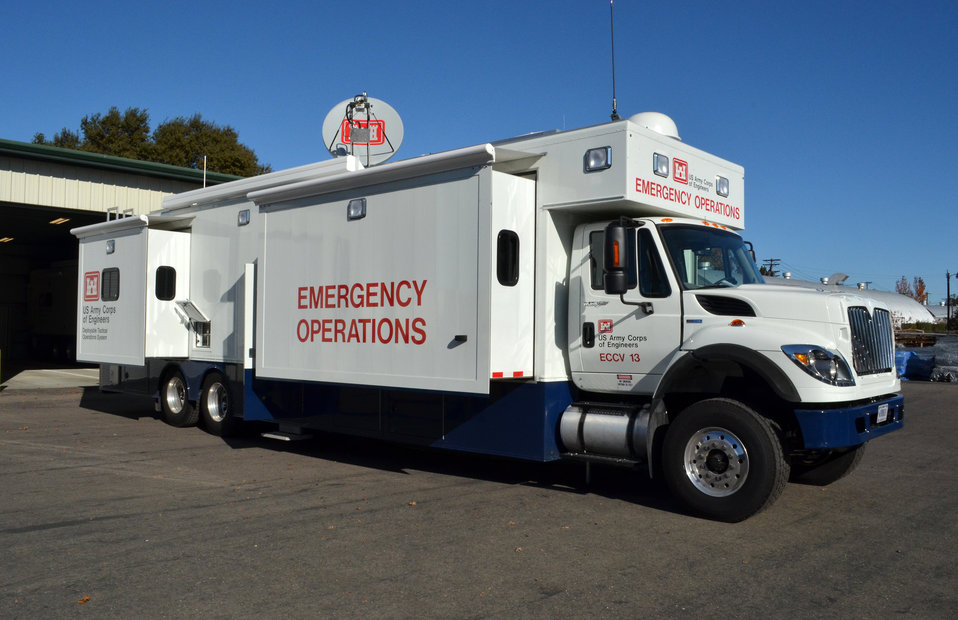 Corps trains on new emergency operations vehicles