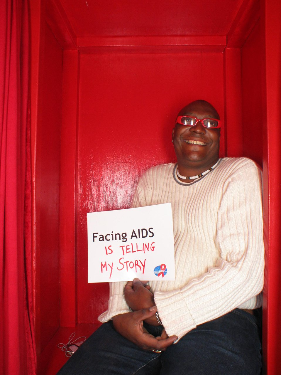 Facing AIDS is telling my story