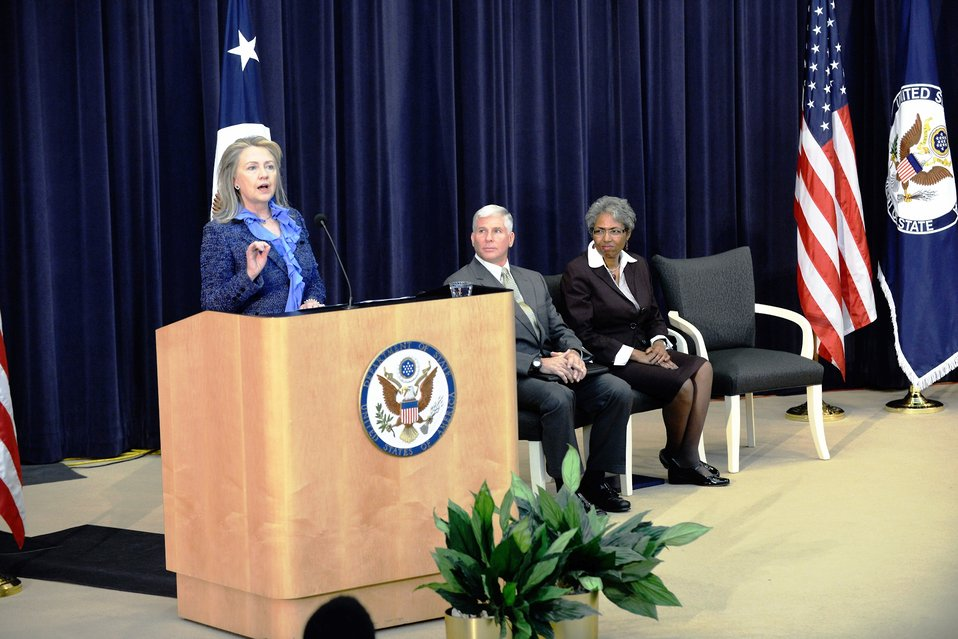 Secretary Clinton Delivers Remarks at the Bureau of Administration's 2012 Annual Awards Ceremony