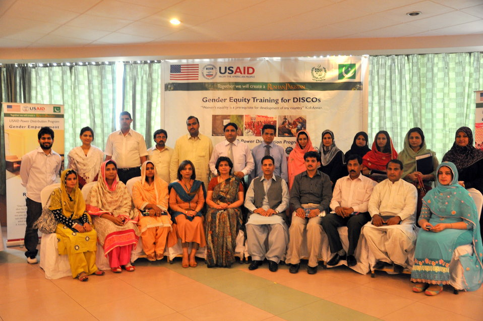 USAID helps reshaping the environment for women at DISCOs