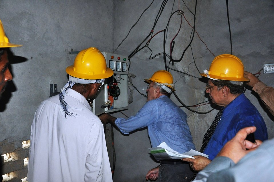 Field Visit at MEPCO - Power Factor Correction Performance Improvement Project