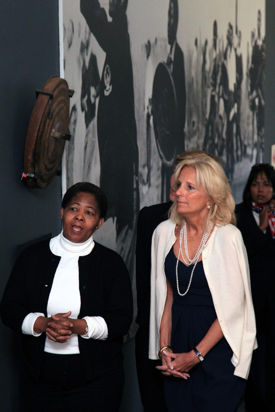 Dr. Jill Biden Visits Hector Pieterson Museum
