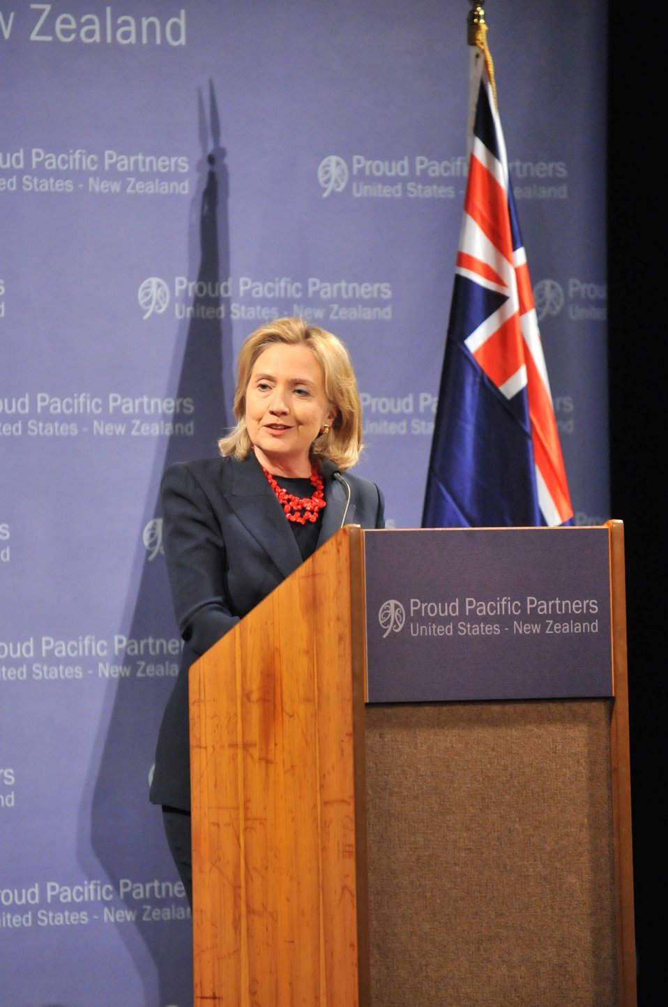 Secretary Clinton Holds a Town Hall in Christchurch