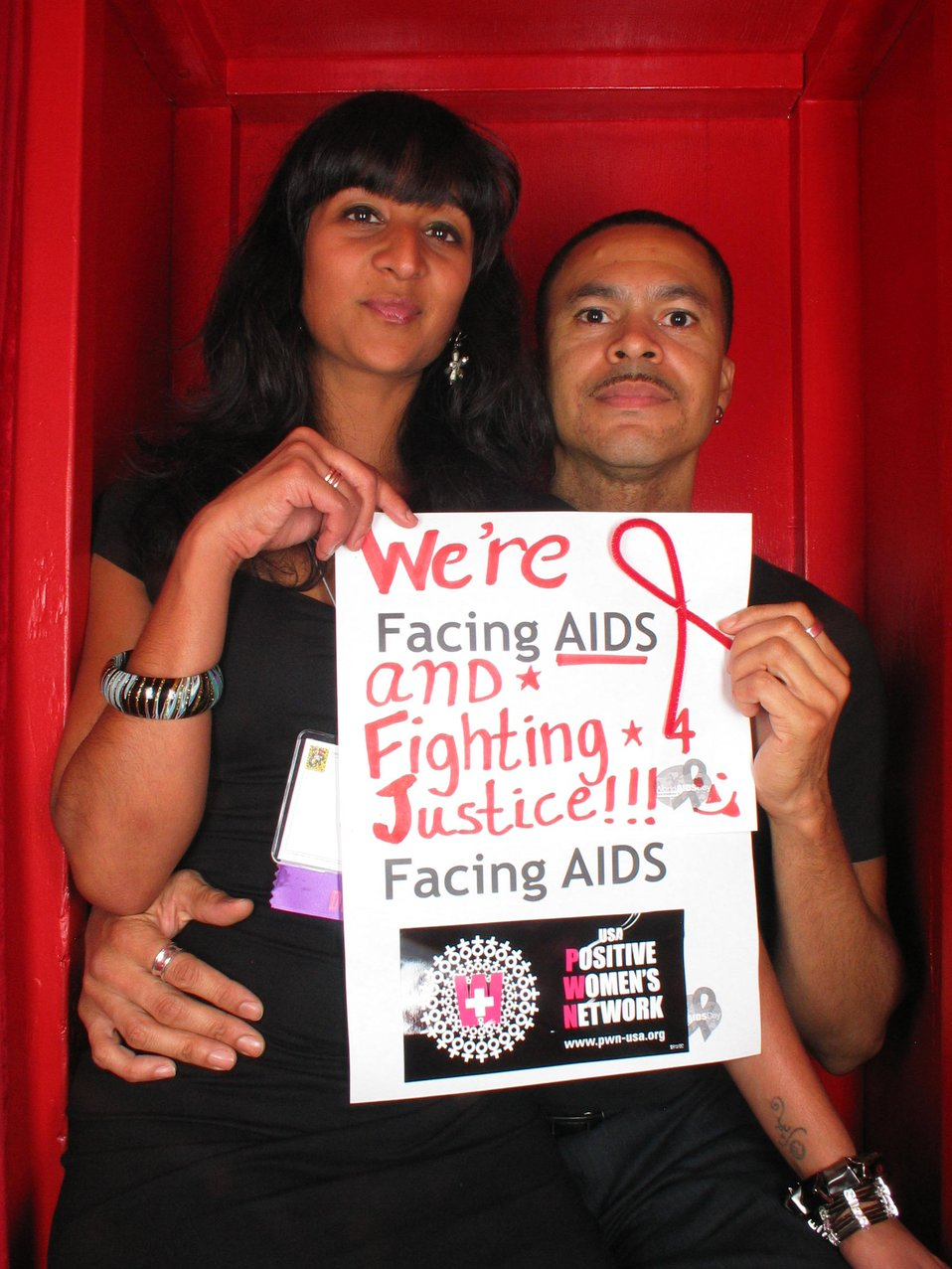 We're Facing AIDS and fighting 4 justice!!!