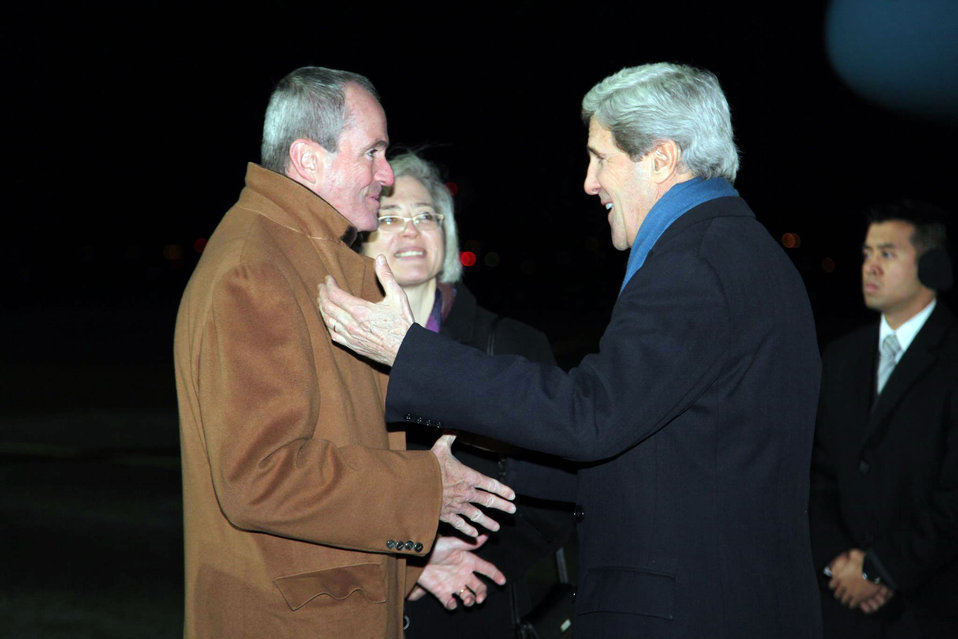Secretary Kerry Arrives in Berlin, Germany