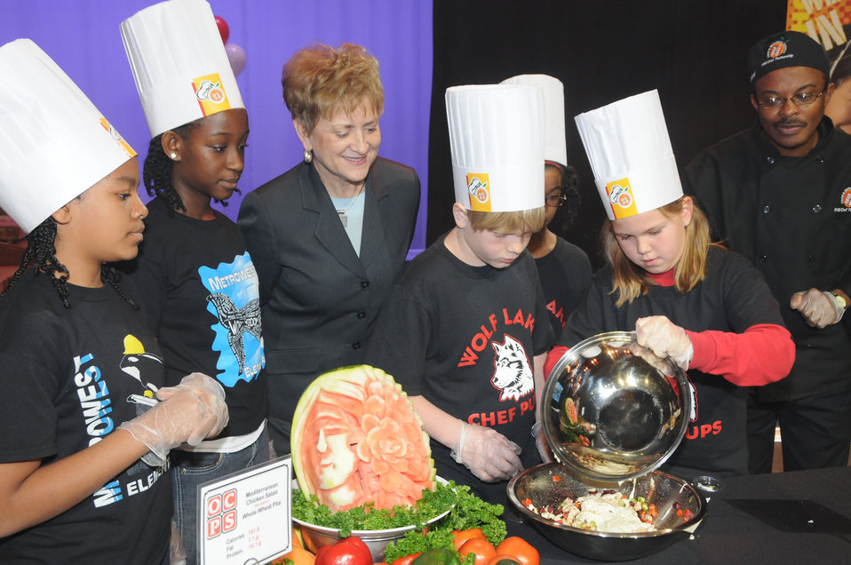 FL CMTS Event - Jan 28, 2011 DUS, kid chefs
