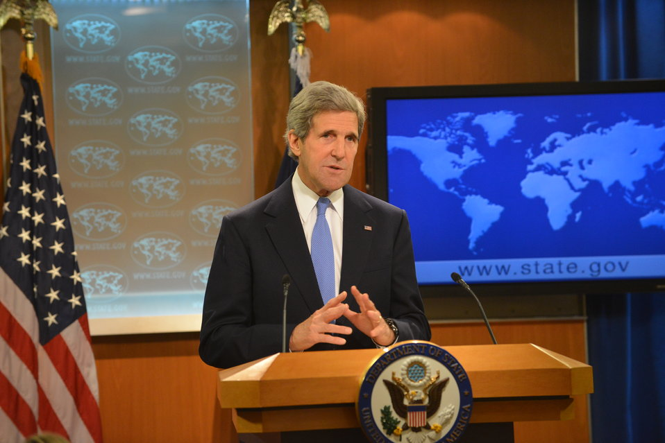 Secretary Kerry Releases the 2012 International Religious Freedom Report