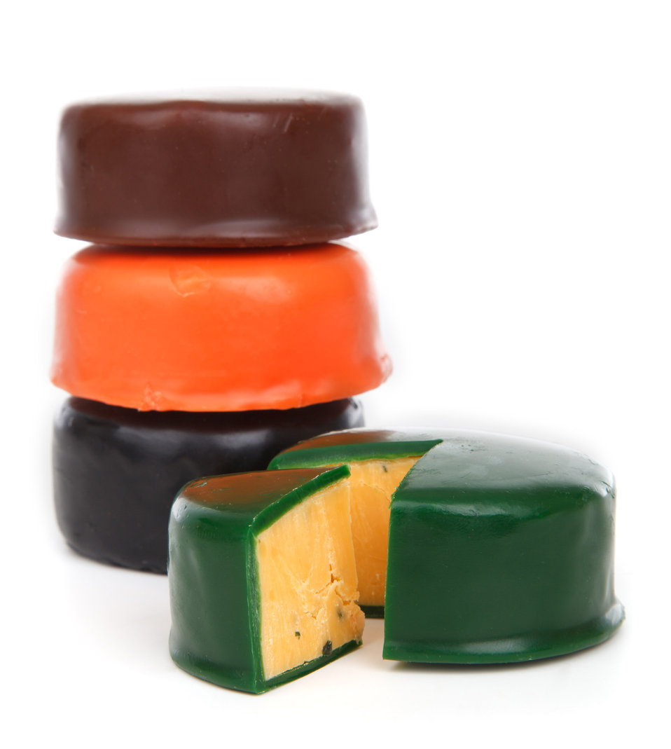 Colorful cheese