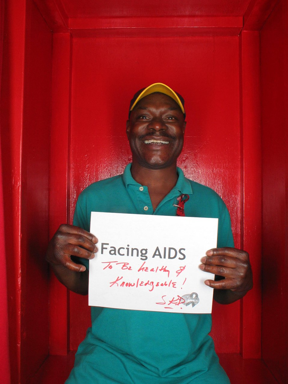 Facing AIDS to be healthy and knowledgable