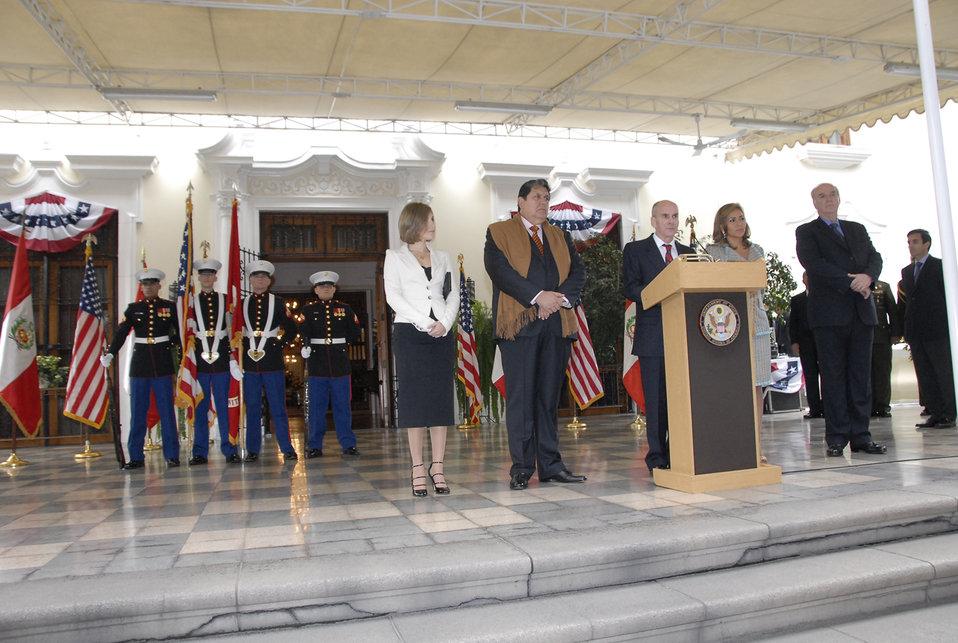 Ambassador McKinley Delivers Remarks
