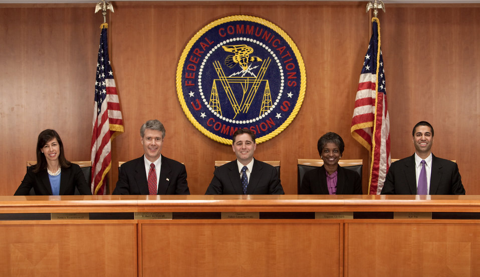 FCC Chairman and Commissioners - May 2012