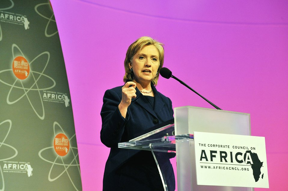 Secretary Clinton Speaks at the Corporate Council on U.S.-Africa Business Summit