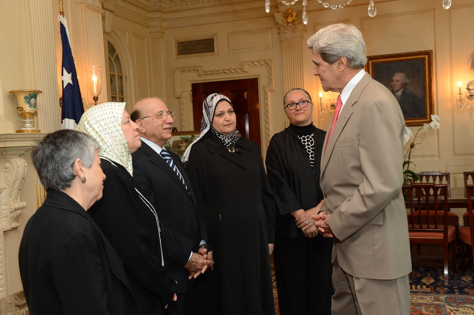 Secretary Kerry Speaks With Iraqi Government and Civil Society Leaders