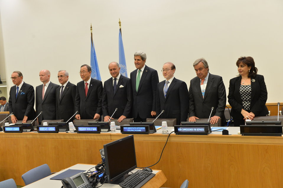 Secretary Kerry Participates in a Meeting of the International Support Group for Lebanon