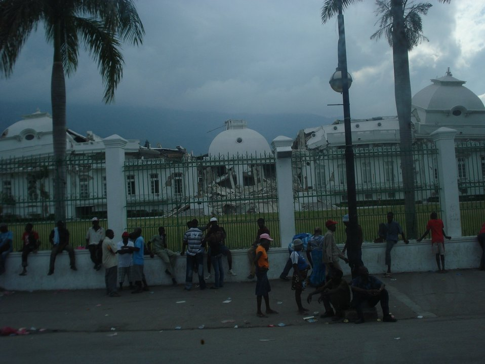 Presidential Palace (Haiti Earthquake - 2010)