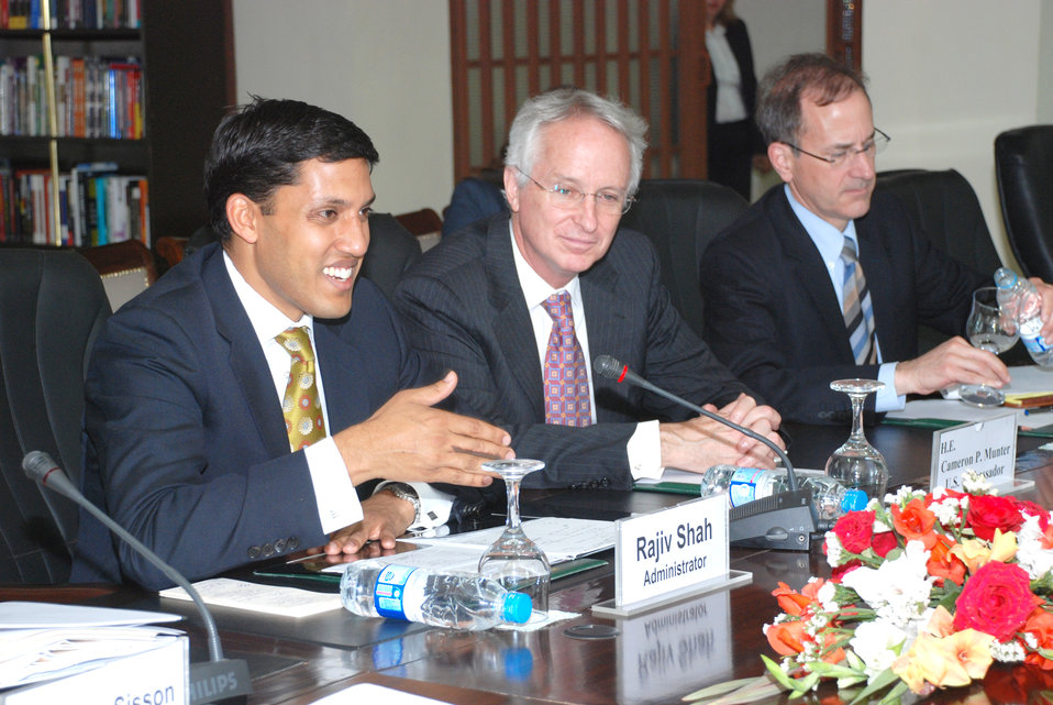 USAID and Pakistan Working Together to Promote Growth, Prosperity at Islamabad on April 13, 2012