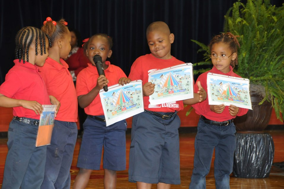 Students at F.S. Ervin Elementary School