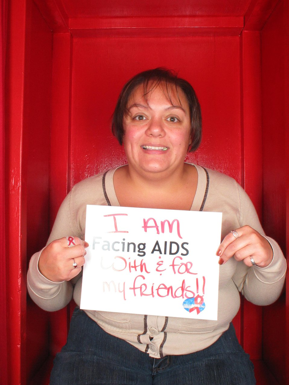 I am Facing AIDS with and for my friends!!