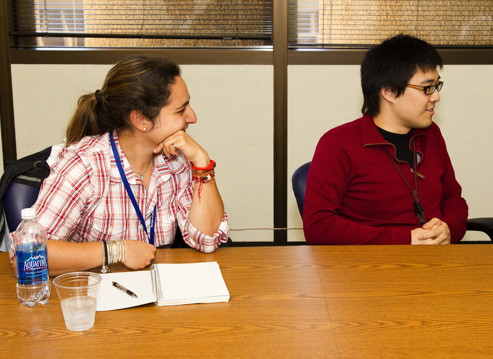 Students Listen to Assistant Secretary Gottemoeller