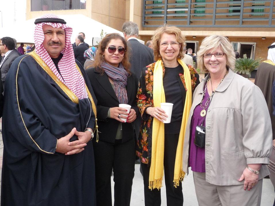 Karen Malzahn and Marialice Eperiam Celebrate National Day in Iraq