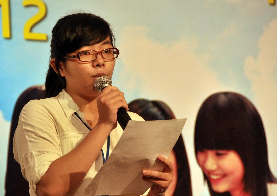 Female Vocational Student Scholarship Ceremony