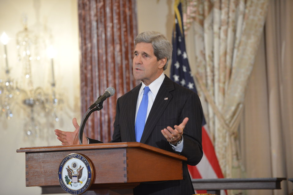 Secretary Kerry Delivers Remarks at the Launch of the Office of Faith-Based Community Initiatives