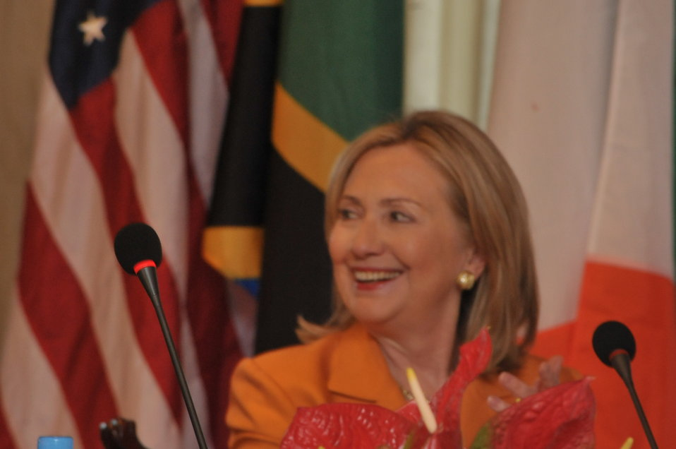 Secretary Clinton Meets With Tanzanian Prime Minister Pinda and Irish Deputy Prime Minister Gilmore