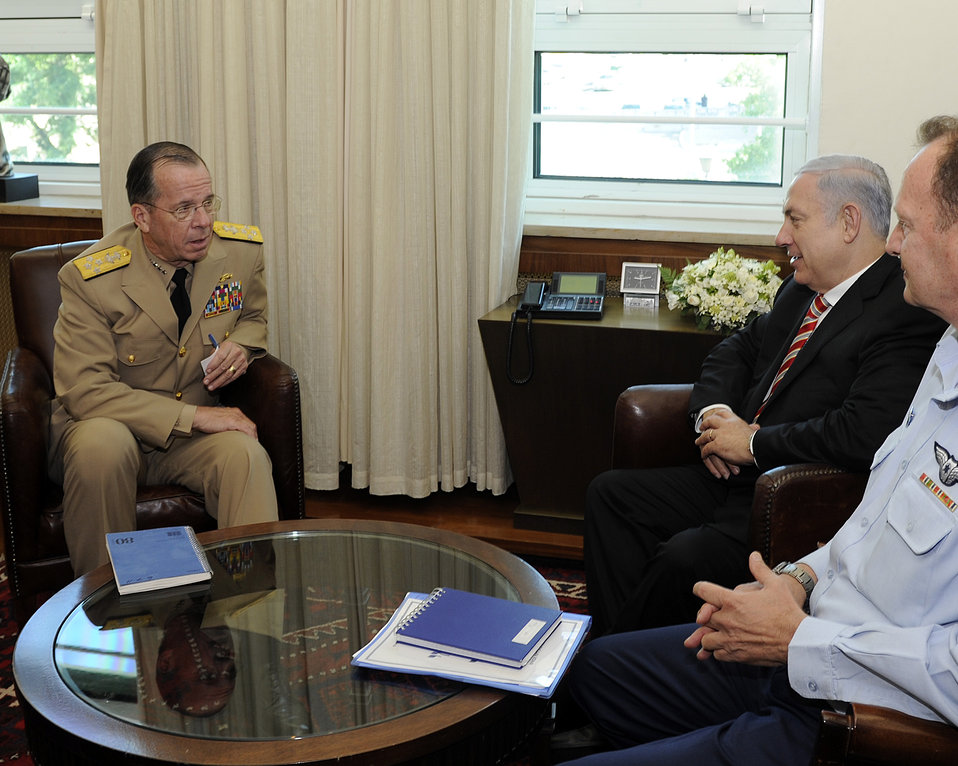 Admiral Mullen Meets With Israeli Prime Minister Netanyahu