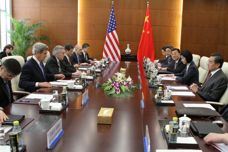 Secretary Kerry Speaks with Chinese Foreign Minister Wang Yi