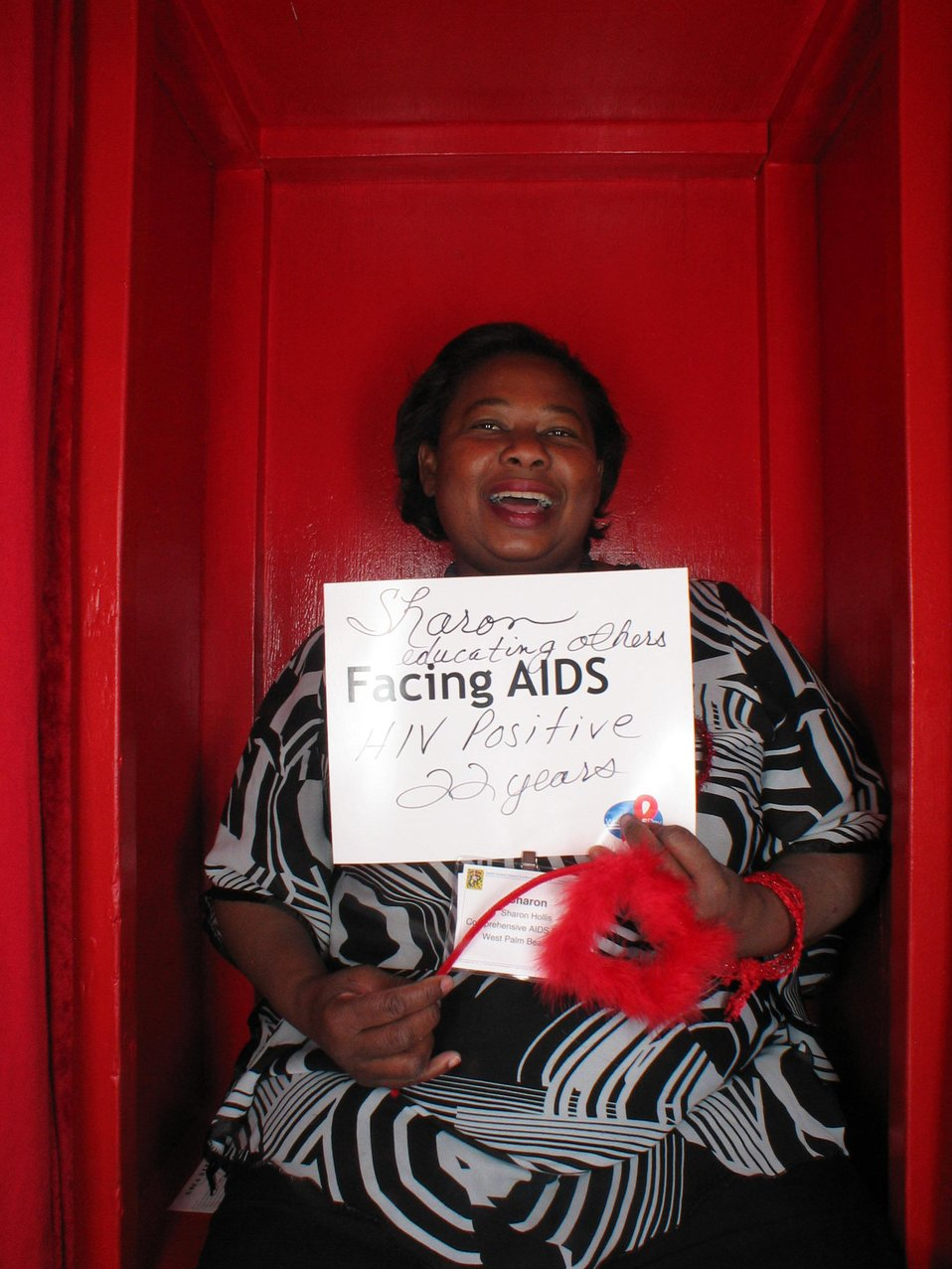 Facing AIDS HIV positive 22 years.