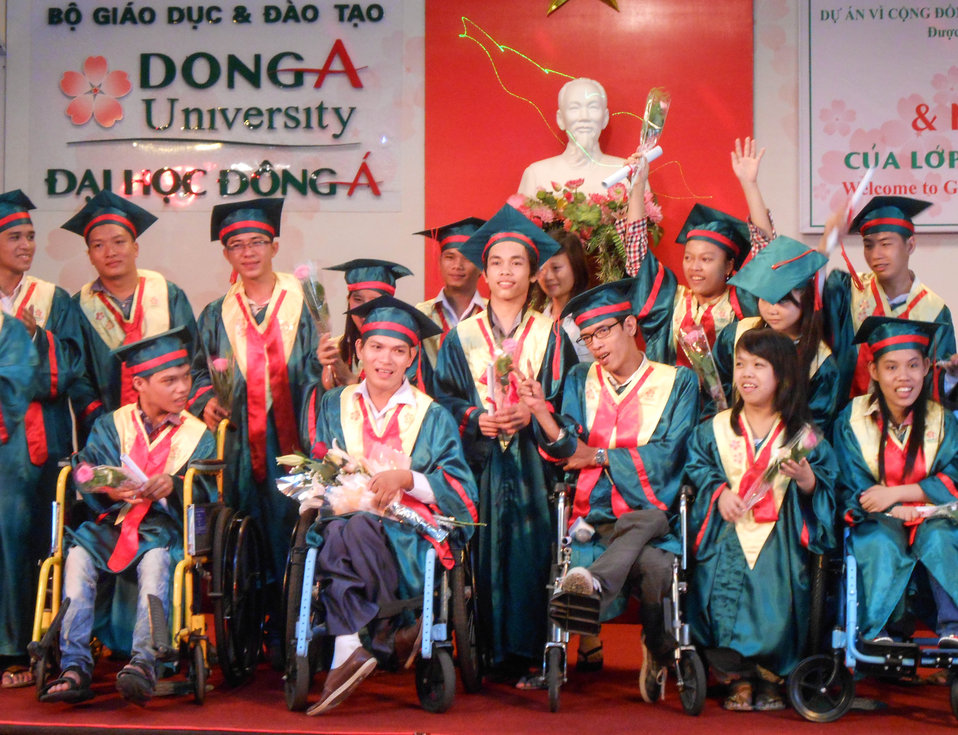 Dong A University IT Program for Students with Disabilities