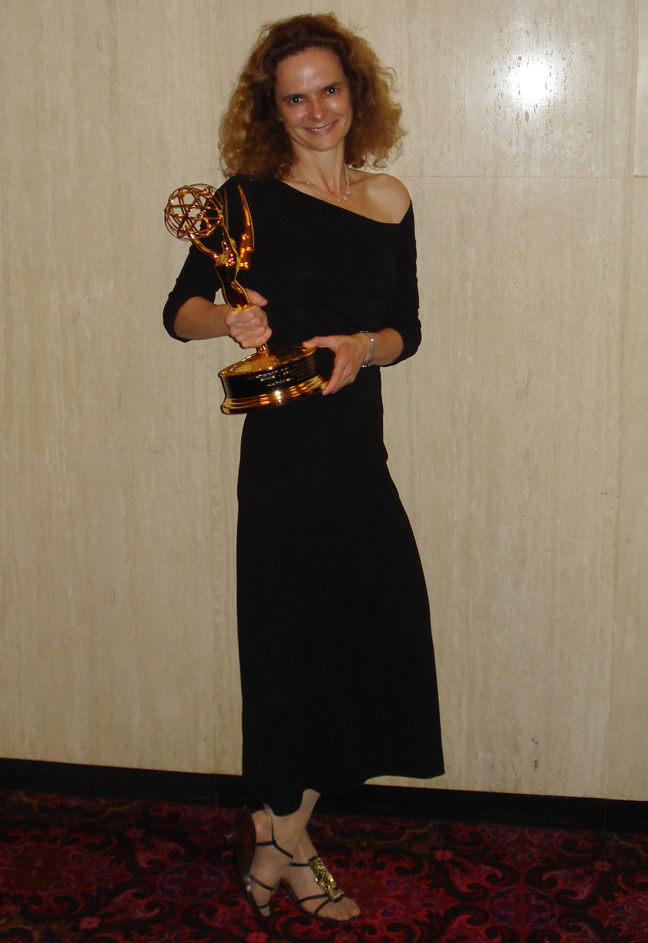 Dr. Nora Volkow at 2007 Emmy Awards