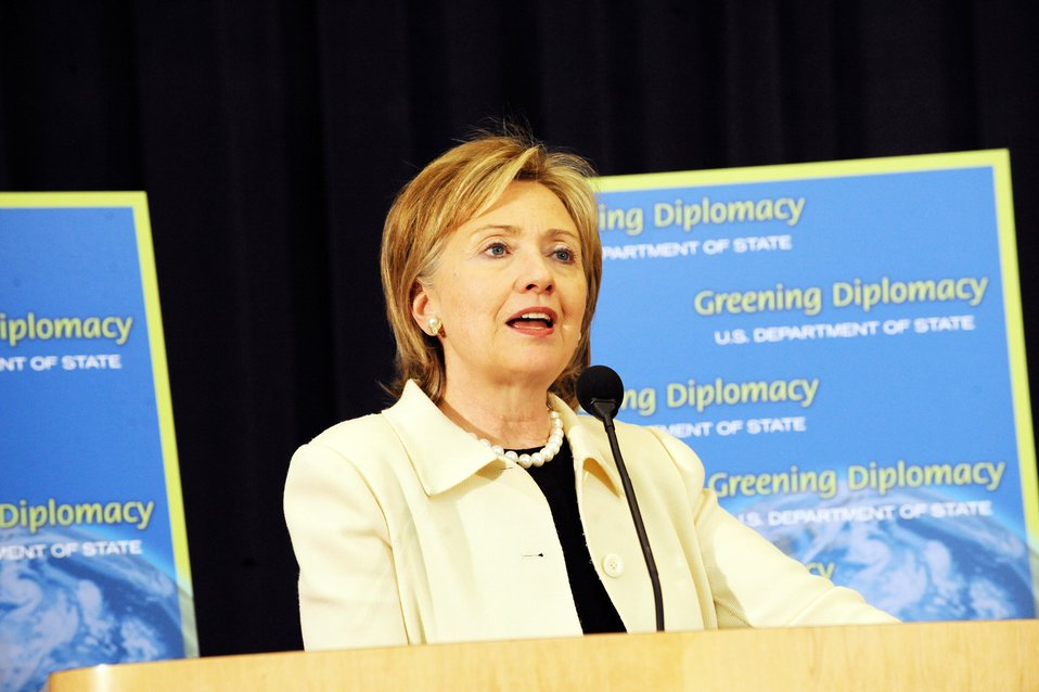 'Greening Diplomacy' Earth Day Event