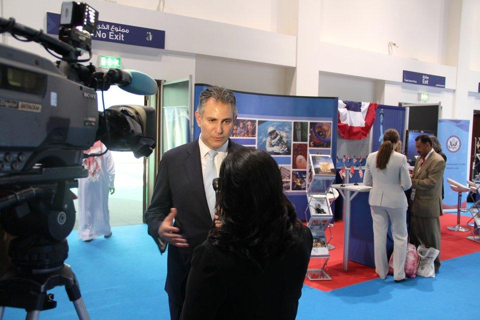 Under Secretary Sanchez Sanchez Is Interviewed