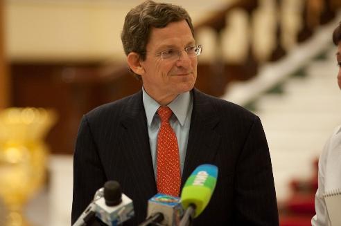 Ambassador Grossman Addresses the Press