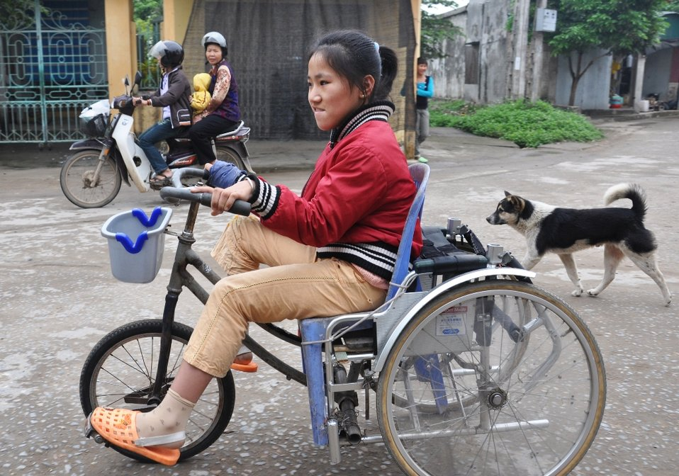 USAID assists persons with disabilities in Vietnam